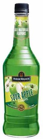 Hiram Walker Schnapps Sour Apple